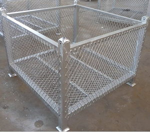 Painted or Galvanized Scaffolding Rack with Mesh