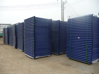 5′ x 4′ shoring frame scaffolding blue powder coated