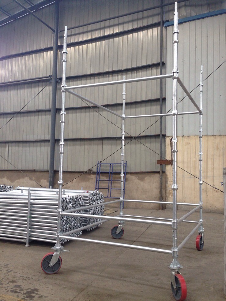 Hot Sale Cuplock System Scaffolding for Construction Materials