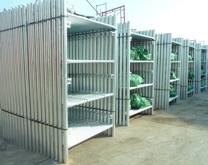 "7'6"" X 4' Heavy Duty Scaffolding Shoring Frame for Construction"