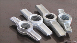 Scaffolding Jack Base Nut Casting Type or Forged Type