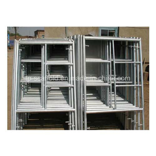 High Quality Galvanized Powder Coated Scaffoding Ladder Frame Mason Frame