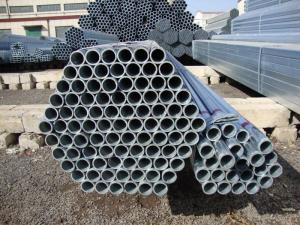 Scaffolding Tube with Hot DIP Galvanized and Paint Surface