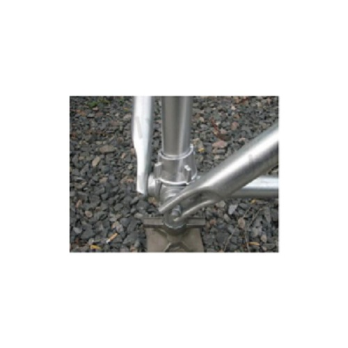 Diagonal Brace for Cuplock Scaffolding with HDP