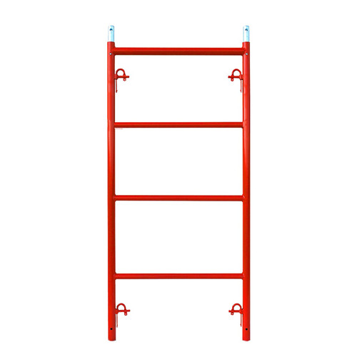 W Scaffolding Narrow Frame with Candy cane locks
