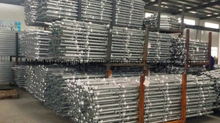Safe Durable Cuplock Scaffold for Export