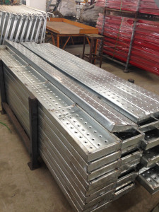 Galvanized Scaffolding Plank with 230mm Width