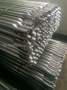 Construction Equipment Cuplock Scaffolding System Galvanized Steel Diagonal Brace